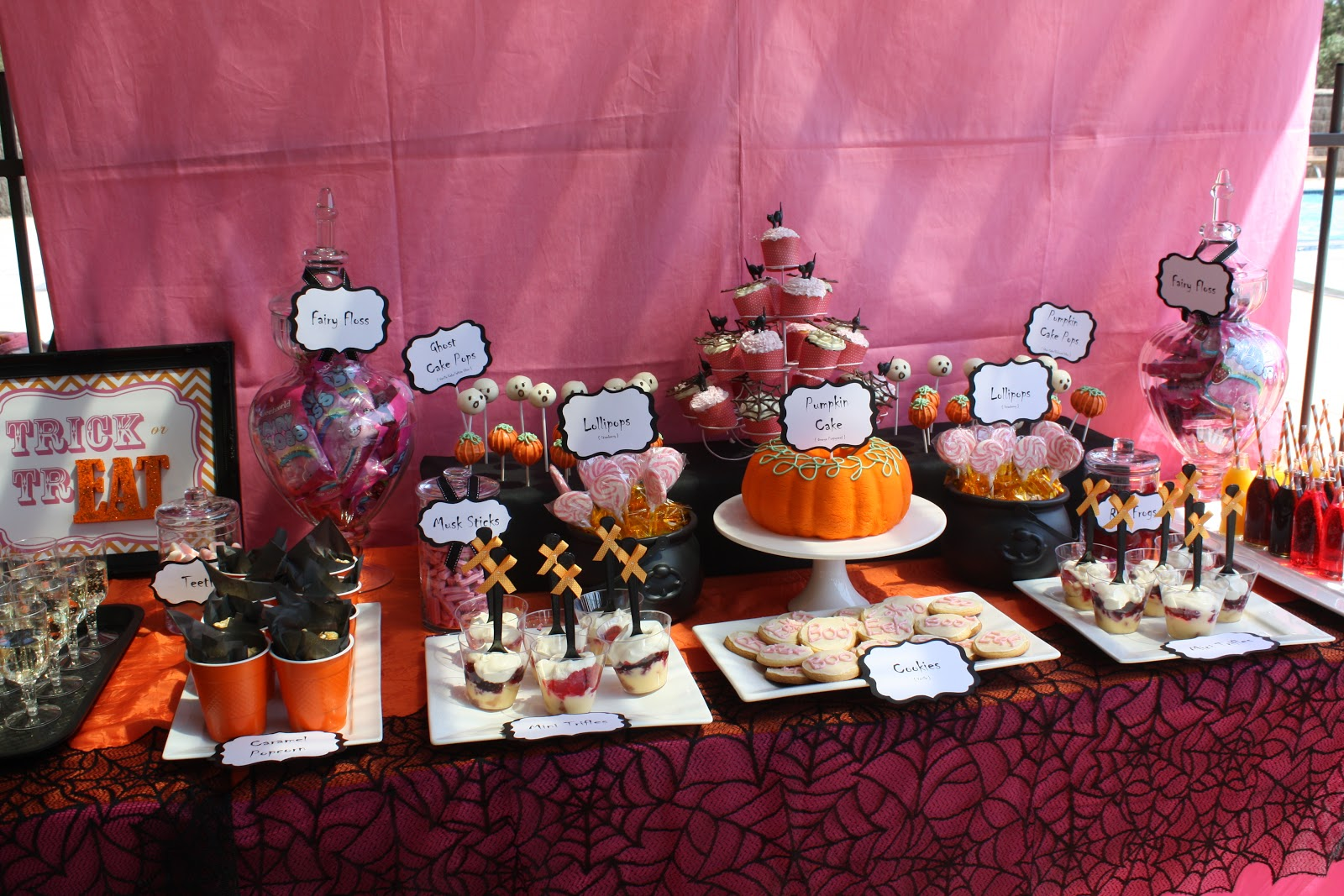 halloween themed baby showerjayne – the little big company blog