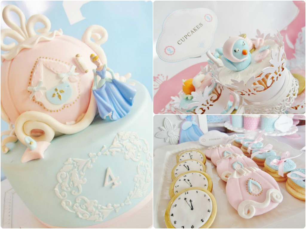 Sensational Cinderella Themed Party By Cakes By Joanne Charmand The Little Personalised Birthday Cards Petedlily Jamesorg
