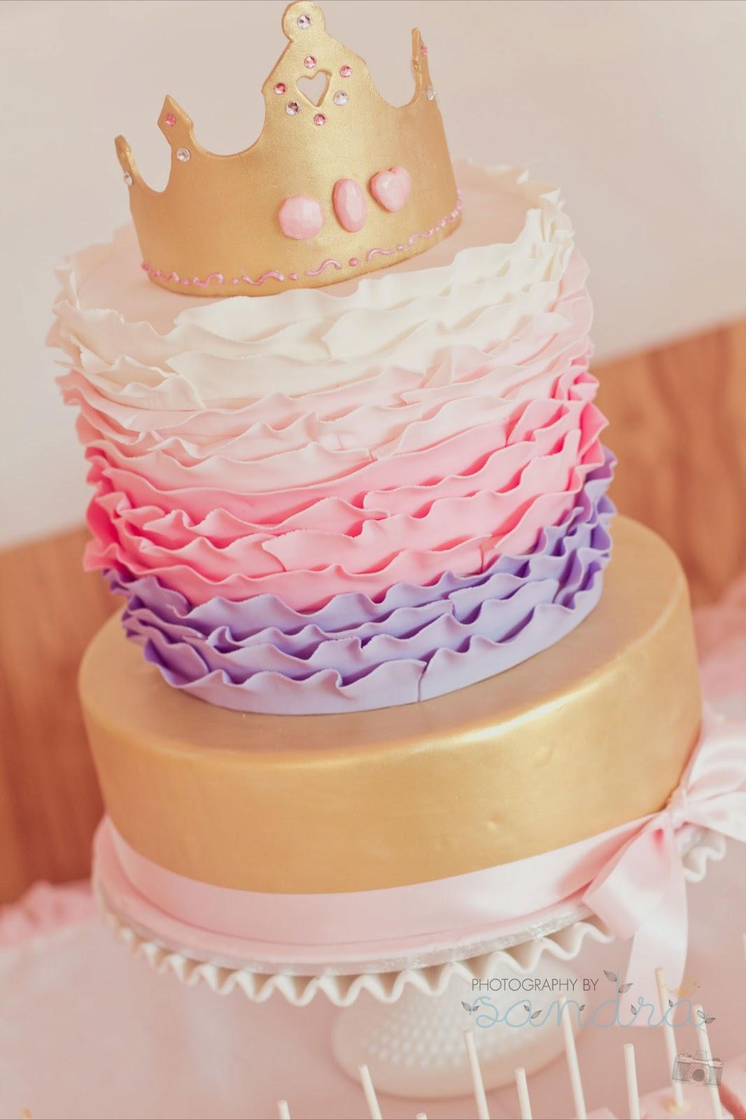 Tremendous Pink Royal Princess Party For Milanias 1St Birthday By Natalie Birthday Cards Printable Benkemecafe Filternl
