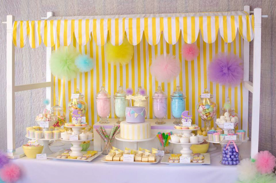 Fairy Floss Pastel Baby Shower By Sugar Coated Mama The Little Big