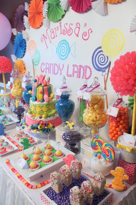 Candy Land Inspired Themed Party For A Sweet 16th By KLM Events U2013 The  Little Big Company BLOG
