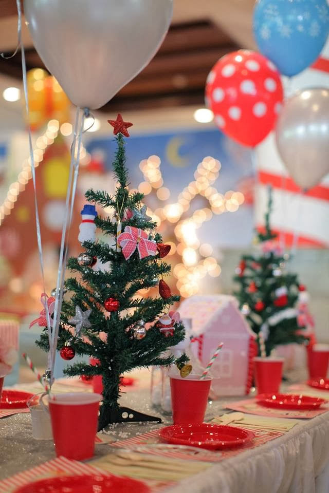Christmas 1st Birthday Party Ideas Part - 34: Christmas Themed 1st Onederland Birthday U2013 A First Christmas Wished Themed  Party By Dreamflavours Celebrations Party And Favors