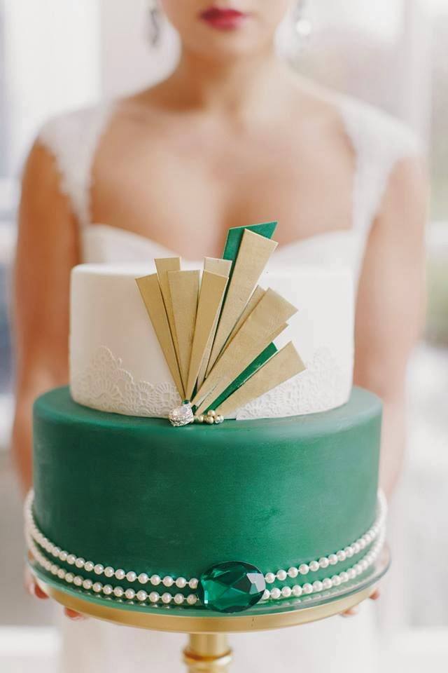 Terrific 1920S Wedding Inspiration With Emerald And Gold Tones By The Download Free Architecture Designs Embacsunscenecom