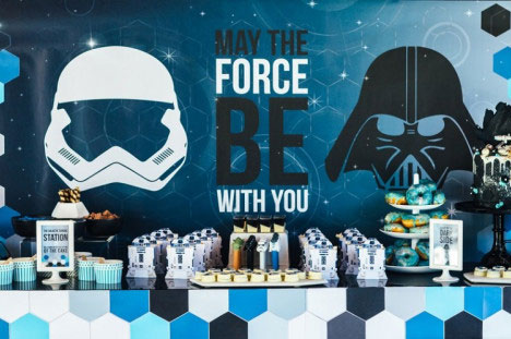 Starwars Birthday Party