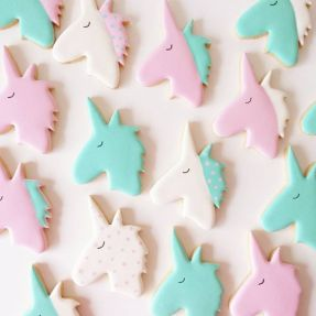Unicorn Cookies by Frosted by Nicci