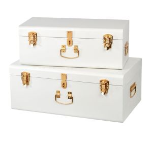 Metal trunks from www.tlbc.com.au
